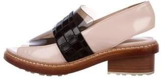 3.1 Phillip Lim Leather Slingback Sandals