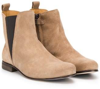 Gallucci Kids TEEN almond toe boots