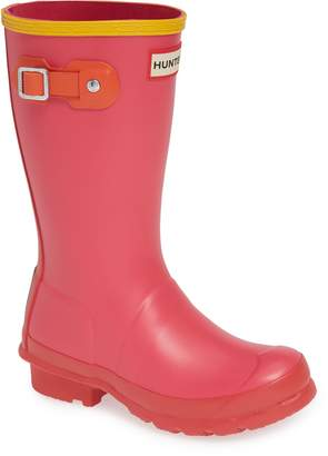 Hunter Colorblock Waterproof Rain Boot