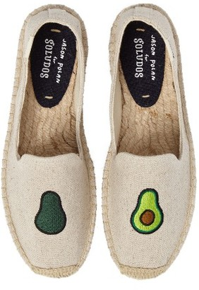 Women's Soludos Avocado Embroidered Platform Espadrille $84.95 thestylecure.com
