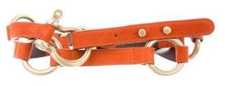 Burberry Nubuck Waist Belt