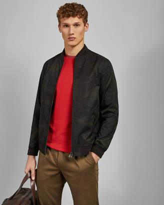 Ted Baker SWAY Printed bomber jacket