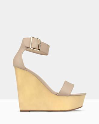 b38a869b39e3 Beige Platform Wedge Sandals For Women - ShopStyle Australia