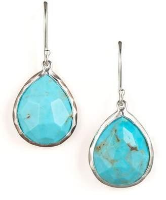 Ippolita Turquoise Teardrop Earrings, Small
