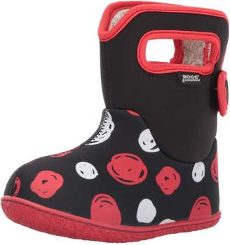 Bogs Kid's Baby Classic Sketched DOTS Boot