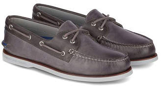 Sperry Gold A/O 2 Eye Maiden Leather Boat Shoe