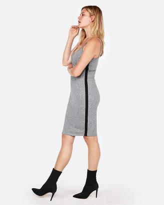 Express Side Stripe Midi Tank Dress