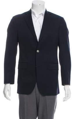 Barneys New York Barney's New York Woven Button-Up Blazer