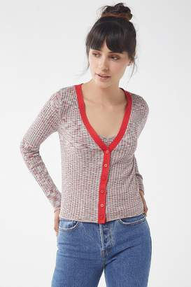 Urban Outfitters Lucky Ribbed Knit Cardigan