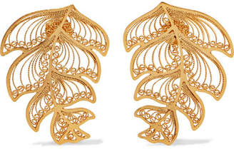 Mallarino Erika Gold Vermeil Earrings