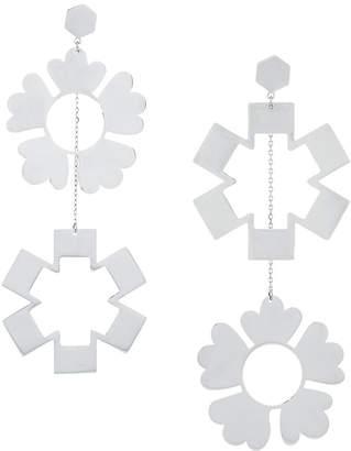 Tory Burch floral drop earrings