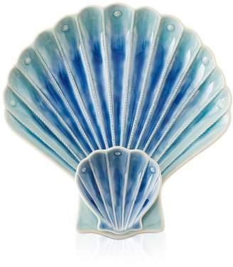 Juliska Berry & Thread Delft Ombré Shell Appetizer Plate
