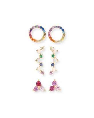 Tai Rainbow Earrings, Set of 3
