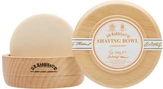 D.R. Harris & Co. Sandalwood Beech Shaving Soap & Bowl