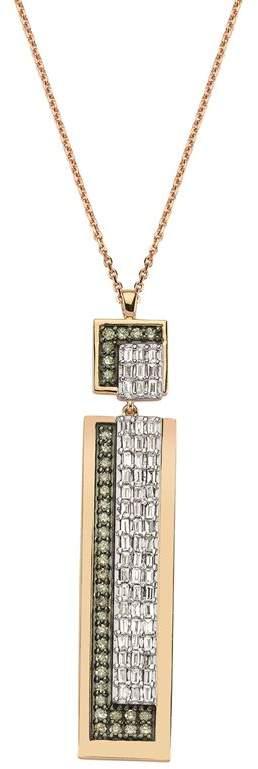 Bee Goddess Mondrian Diamond Necklace