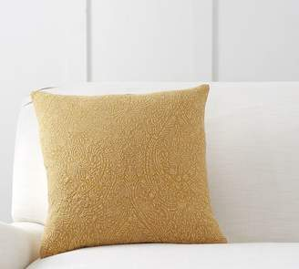 Pottery Barn Bakari Embroidered Pillow Cover