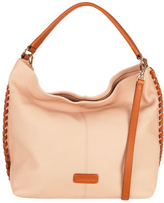 Cole Haan  Cole Haan Addey Leather Hobo Bag