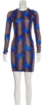 Christopher Kane Floral Striped Dress