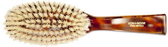 "Koh-I-Noor Koh I Noor Oval White Boar Bristle Brush ""Jaspe"""