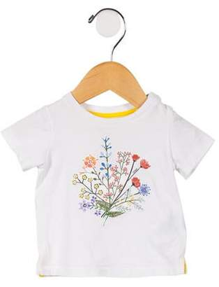 Fendi Girls' Floral Graphic Top