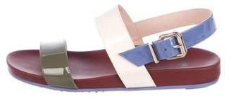 Fendi Patent Leather Sandals w/ Tags