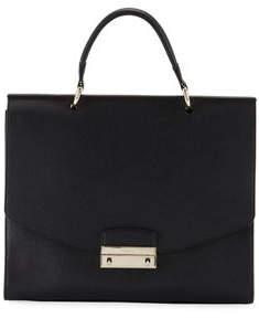 Furla Julia Medium Leather Top-Handle Bag