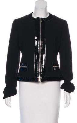 Michael Kors Casual Virgin Wool Jacket