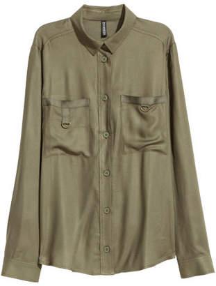 H&M Utility shirt - Green