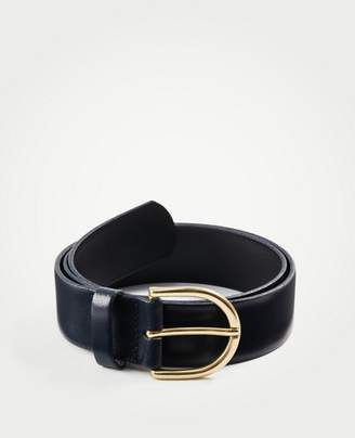 Ann Taylor Wide Leather Trouser Belt