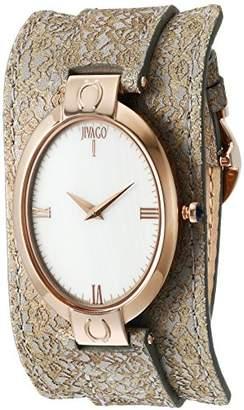 Jivago Women's 'Good Luck' Swiss Quartz Stainless Steel Casual Watch (Model: JV1832)