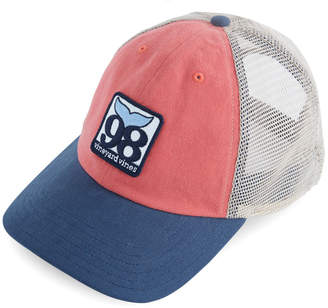 Vineyard Vines Low Profile Deconstructed 98 Patch Trucker Hat
