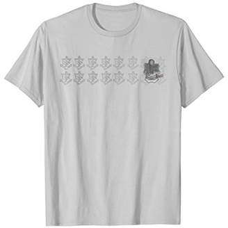 Master Chief Distressed Skull Anchor T-Shirt