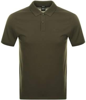 HUGO BOSS Pallas Polo T Shirt Khaki
