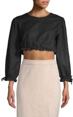 Lovers + Friends Tara Cropped Top