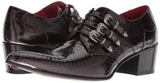 Jeffery West Three Punk Western Buckle's Monk Shoe Men's Shoes