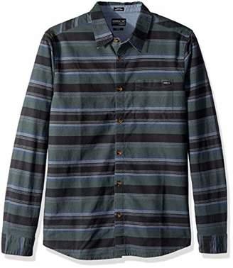 O'Neill Men's Barton Long Sleeve Woven Shirt