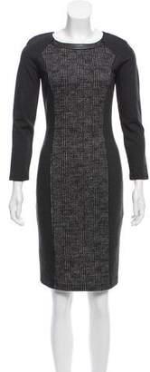 Max Mara Weekend Virgin Wool Knee-Length Dress