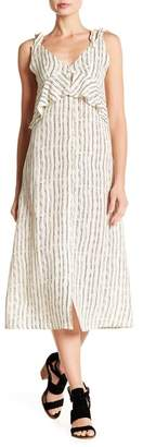 Billabong Loosen Up Linen Blend Dress
