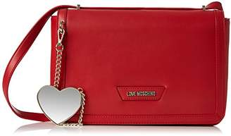 Love Moschino Borsa Calf Pu Rosso, Women's Shoulder Bag,6x13x28 cm (B x H T)