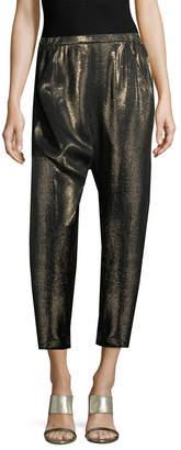 Zero Maria Cornejo Metallic Crop Pant