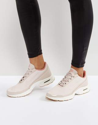 Nike Jewell Sneakers In Pastel Pink Leather