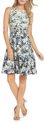 Women's Maggy London Fit & Flare Dress $98 thestylecure.com