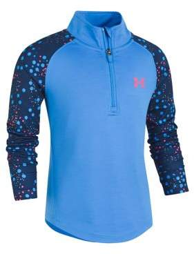 Under Armour Little Girl's Astro Dot Training Top