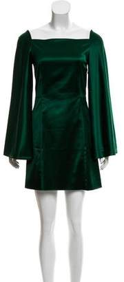 Rosetta Getty Wide Sleeve Mini Dress w/ Tags