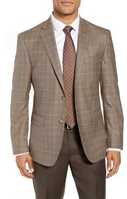 f0751de8bbd52 ... John W. Nordstrom R) Traditional Fit Plaid Wool Sport Coat