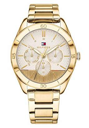 Tommy Hilfiger Unisex-Adult Multi dial Quartz Watch with Stainless Steel  Strap 1781883 148458ef618
