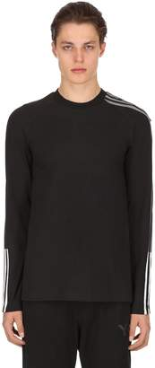 Y-3 3 Stripes Long Sleeve Jersey T-Shirt