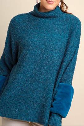 Umgee USA Faux Fur Sweater