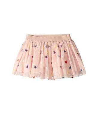 Stella McCartney Embroidered Stars Tulle Skirt (Toddler/Little Kids/Big Kids)