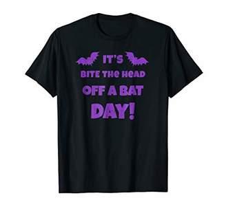 Bite The Head Off A Bat Heavy Metal Music T shirt